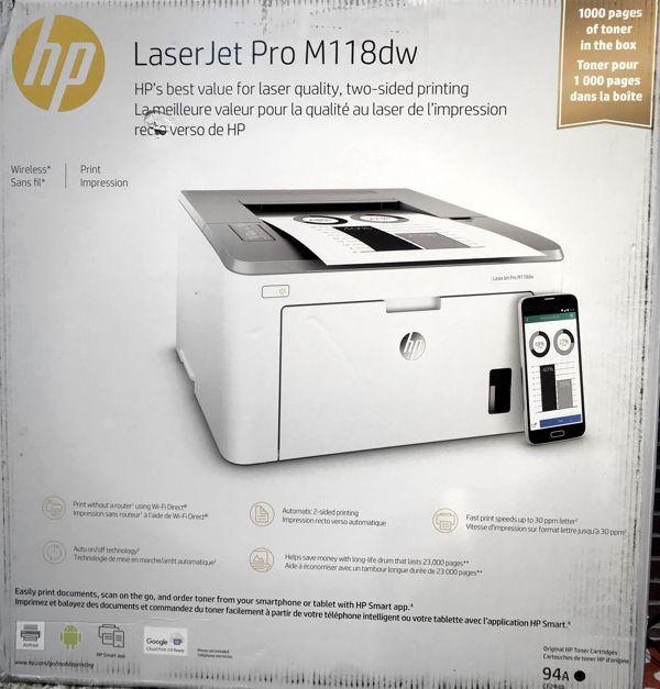 Review: HP Laserjet M118dw Monochrome Printer | Writing, Research