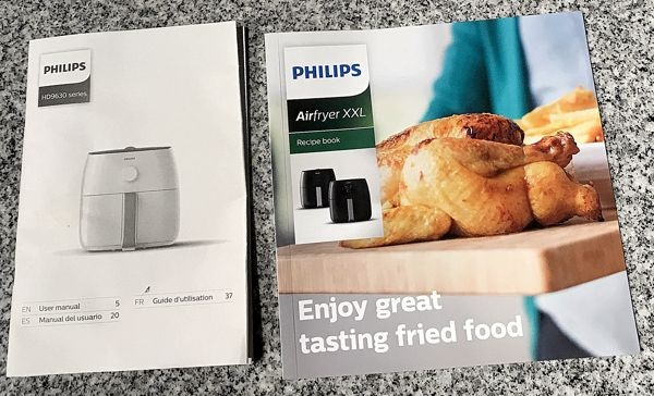 Review Philips Hd9630 28 Avance Xxl Airfryer Writing