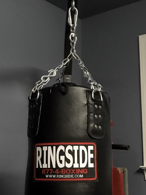 Review: Ringside Leather Heavy Bag | Writing, Research, Exploration
